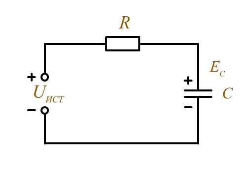 Как работает конденсатор в цепи постоянного тока